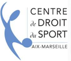 Logo Centre de Droit du Sport