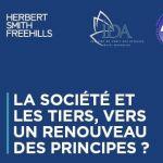 La société et les tiers, vers un renouveau des principes