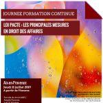 Loi PACTE le 11/07/2019 : Affiche